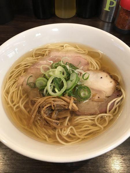 「塩ラーメン ¥680」@かしわぎの写真