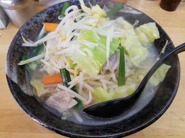 「タン餃セット」@タンメンしゃきしゃき 新橋店の写真