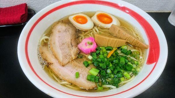 「特製塩らーめん」@自家製麺SHINの写真