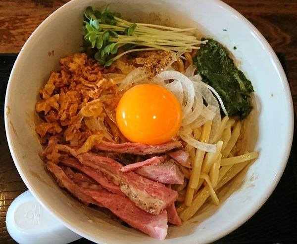 「JJモッシュそば ¥700」@仮麺中(ぬちぐすい)の写真