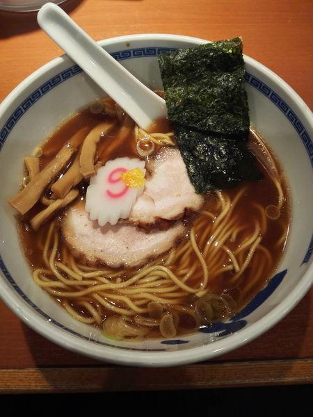 「醤油ラーメン」@たけちゃんにぼしらーめん 調布店の写真