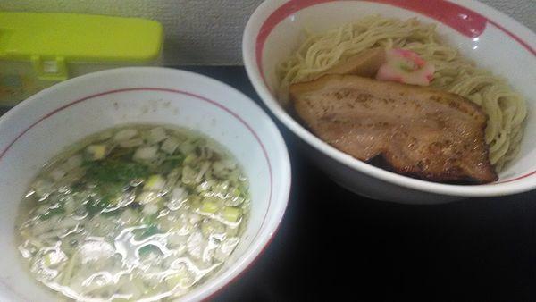 「アゴ出汁つけ麺 大盛」@自家製麺SHINの写真