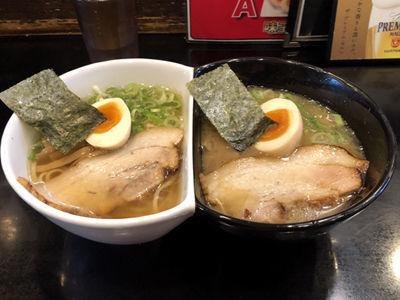 「左近VS幸村(1,000円)」@麺将 武士の写真