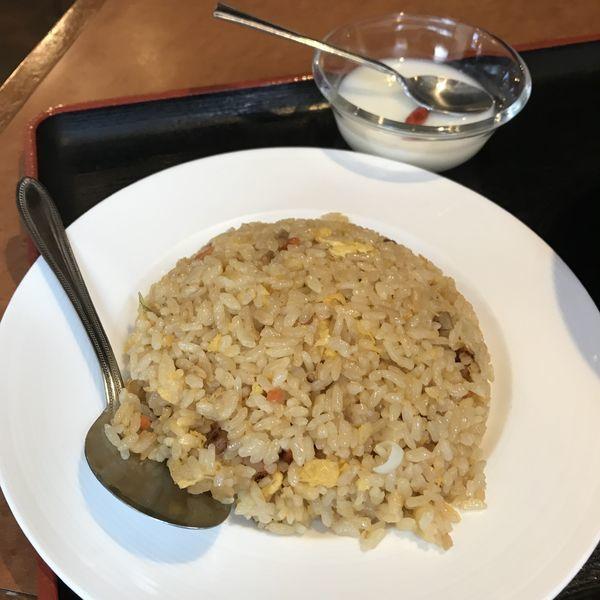 「サンマー麺+半炒飯(¥750)」@幸福楼 蒲田店の写真
