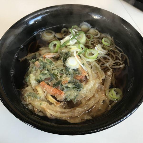 「天ぷら(¥450)」@立喰いそば はるなの写真