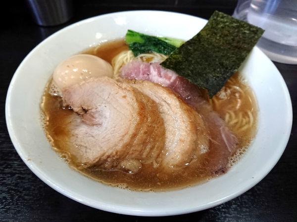 「煮干しそば+厚切り豚x2」@陽はまたのぼるの写真