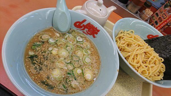 「醤油つけ麺(740円)」@ラーメン山岡家 さいたま宮前店の写真