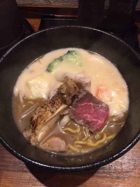 「味噌シチューラーメン 通常価格850円」@麺屋 神風の写真