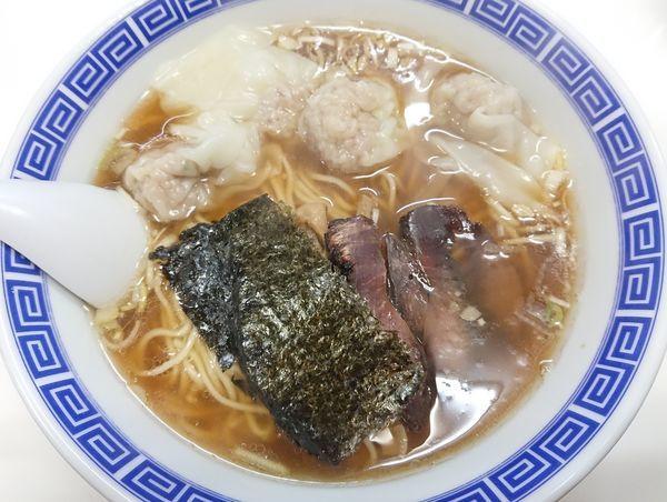 「ワンタン麺(肉)」@支那そば いしはらの写真