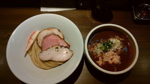「蟹カレーつけ麺」@つけ麺 一燈の写真