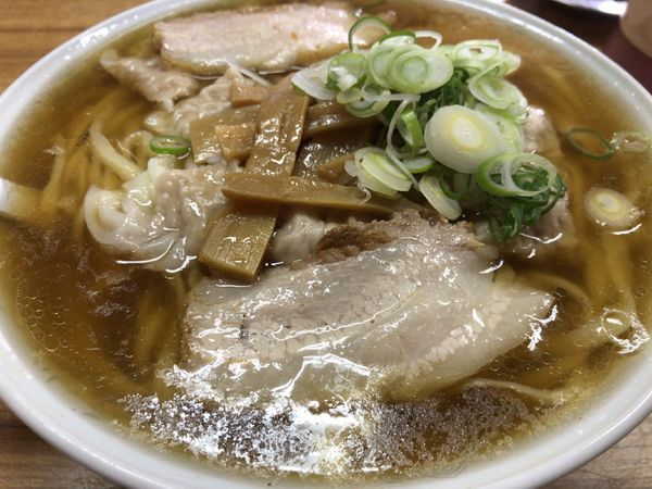 「ワンタン麺大盛り」@森田屋支店 太田店の写真