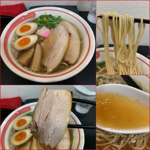 「アゴだし特製醤油らーめん¥1000」@自家製麺SHINの写真