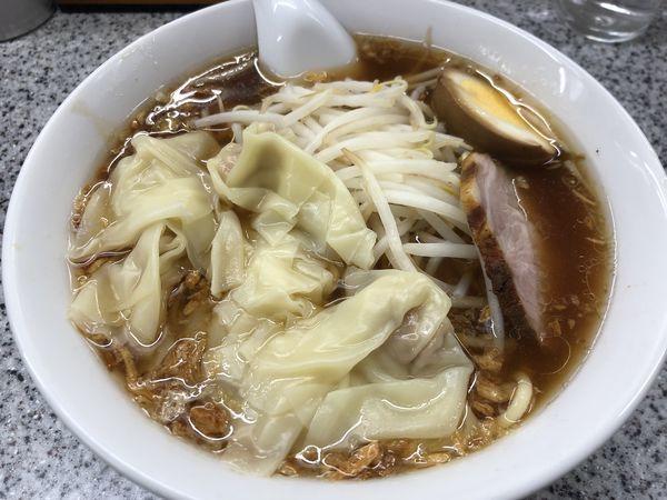 「ワンタン麺(850円)」@喜楽の写真
