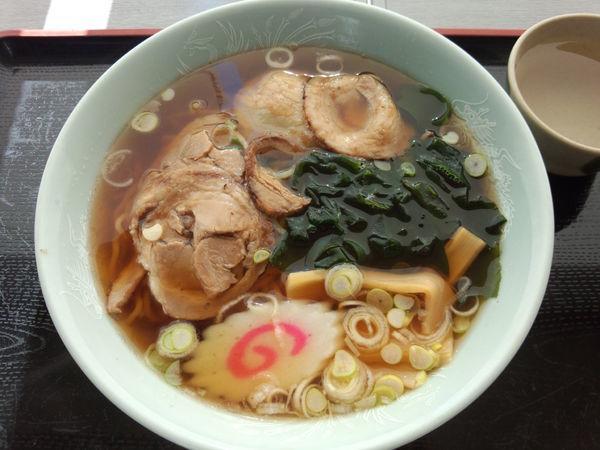 「チャーシューメン470円」@食堂アザレアの写真