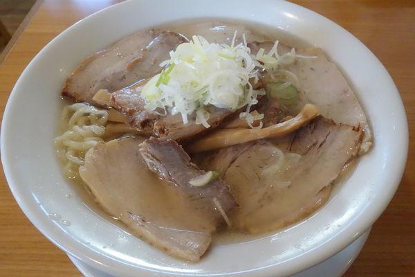 「会津山塩チャーシューメン」@うえんで食堂の写真
