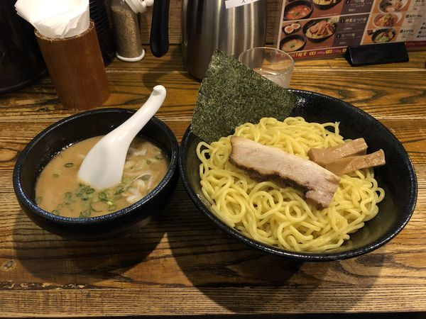 「つけ麺 大盛り300g 800円」@中華蕎麦 つけ麺 一の写真