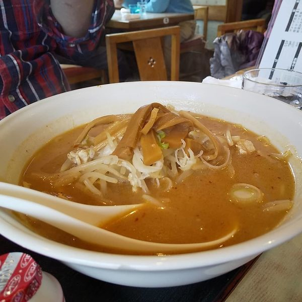 「激辛みそラーメン」@しをみ食堂の写真