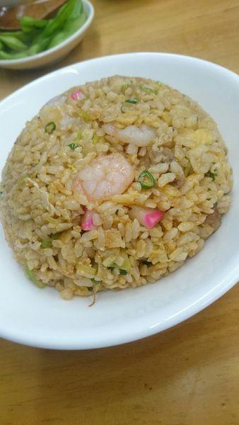 「えび炒飯  600円」@麺や 流れ星の写真
