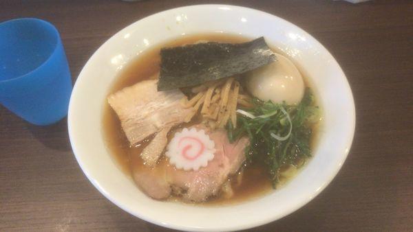 「醤油味玉らーめん(中盛):880円」@麺や 河野の写真