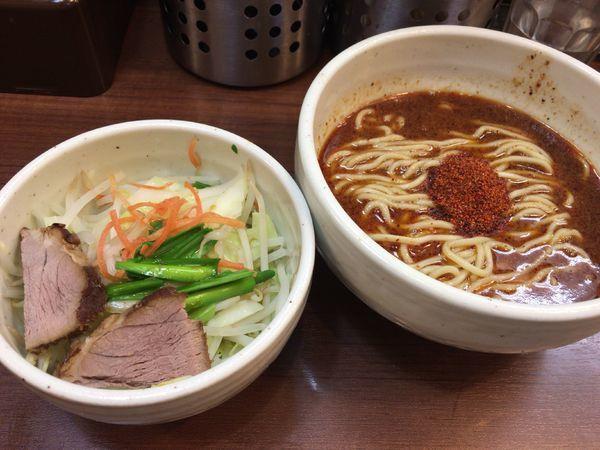 「ハーフ辛辛ラーメン740円(野菜プレーン)」@麺処 一笑の写真