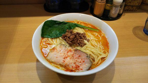 「鶏担々麺」@はぐれ雲の写真