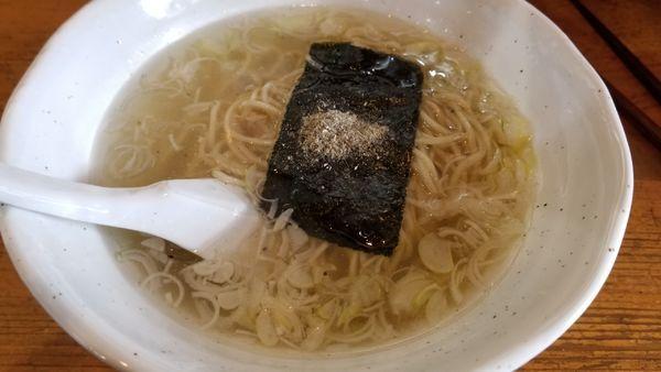 「澄まし煮干塩」@らぅめん大玖未の写真