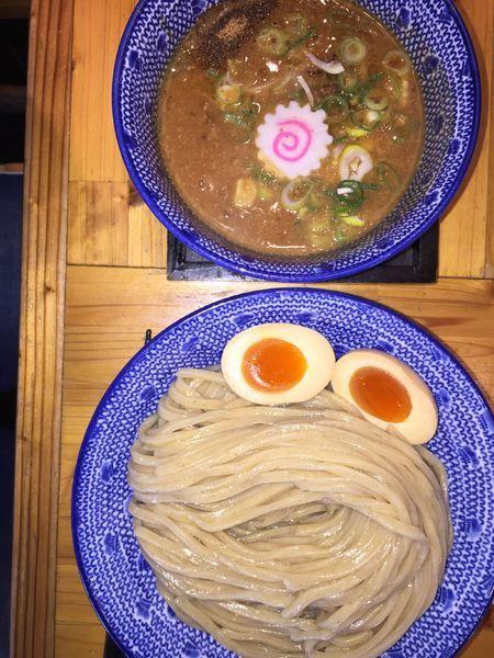 「濃厚つけ麺」@必死のパッチ製麺所の写真