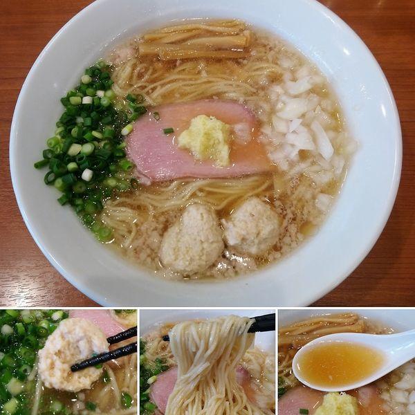 「背脂生姜ラーメン(冬季限定)  900円」@中華そば 七麺鳥の写真