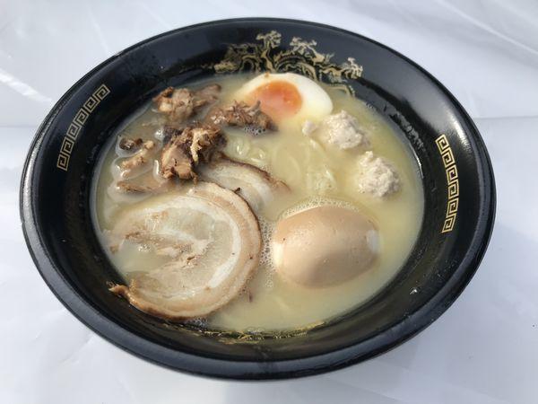 「名古屋コーチンと比内地鶏の極上鶏白湯」@名古屋ラーメンまつり2019の写真