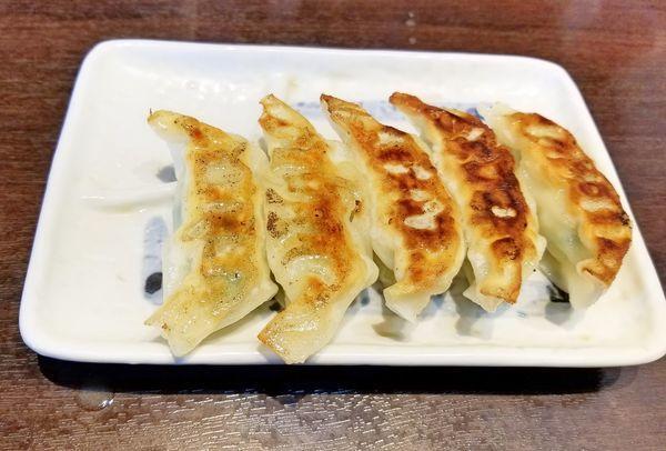 「特製餃子350」@麺屋ひぶたの写真
