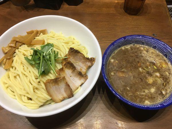 「濃厚つけ麺」@麺や百日紅の写真