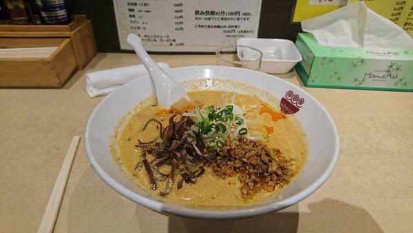「担々麺」@麺屋かなたの写真