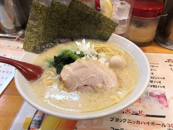 「濃厚豚骨塩ラーメン」@麺屋 貴壱家の写真