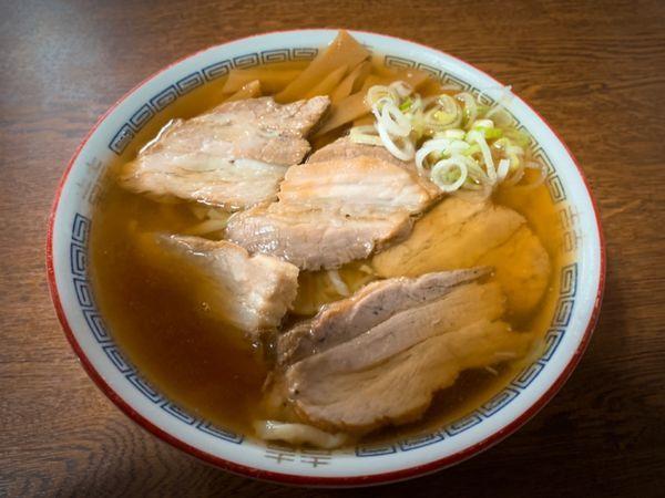 「チャーシュー麺」@森田屋総本店の写真