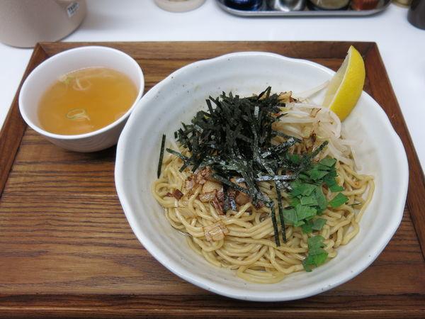 「油そば(スープ付き):800円」@忍八の写真