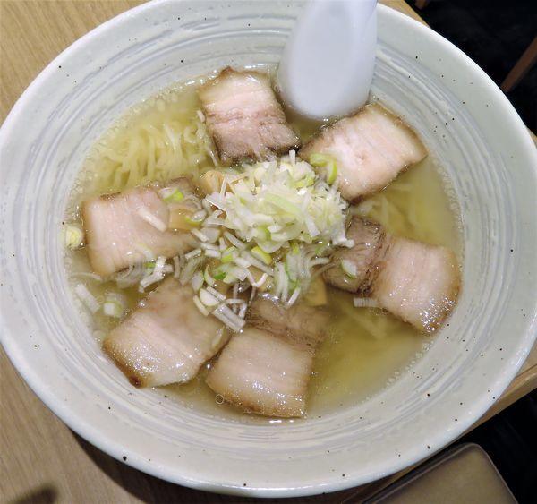 「喜多方塩チャーシュー(1,058円)」@地鶏と会津蕎麦 七日町亭の写真
