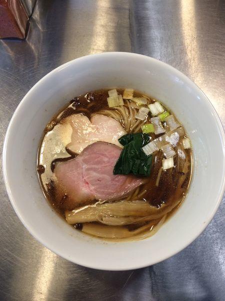 「鰹醤油らぁめん」@Bonito Soup Noodle RAIKの写真