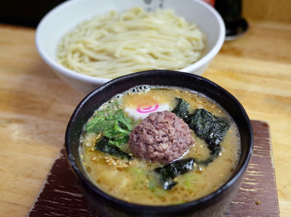 「キトキト釜揚げつけ麺…940円」@麺屋 白神の写真
