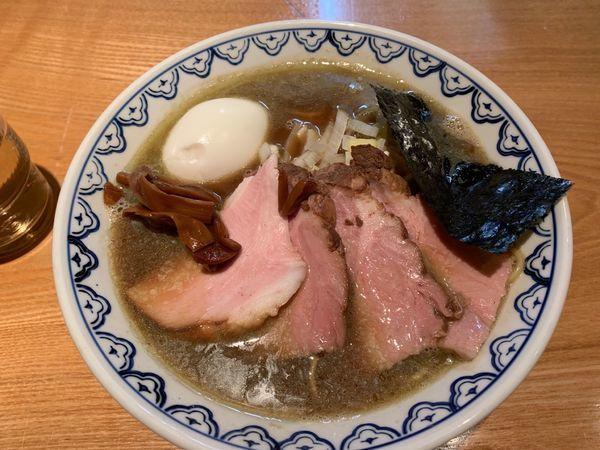 「煮干しラーメン上」@つじ田 奥の院の写真