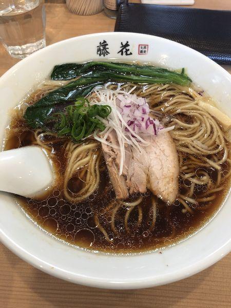 「らぁ麺 醤油」@支那蕎麦屋 藤花の写真