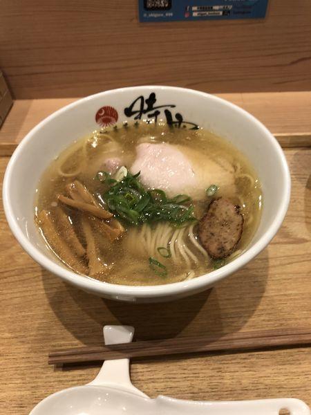 「塩蕎麦」@中華蕎麦 時雨の写真