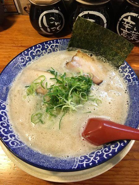 「博多とんこつ 650円」@博多ラーメン鶴亀堂 鶴ヶ島店の写真
