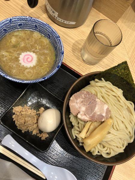 「得製つけ麺並」@舎鈴 キュービックプラザ新横浜店の写真