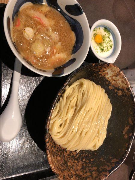 「とろろつけ麺」@三ツ矢堂製麺 大森店の写真