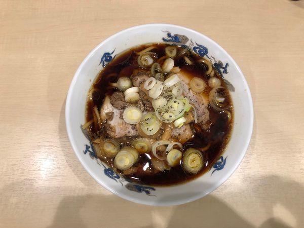 「中華そば 小」@西町大喜 とやマルシェ店の写真