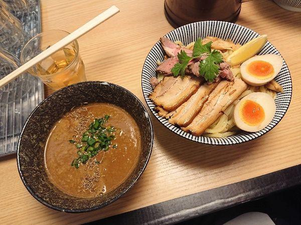 「子羊(ラム)つけめん 全部のせ」@自家製麺 MENSHO TOKYOの写真