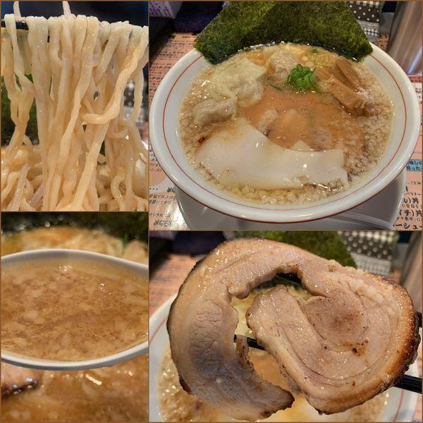 「95(キュウゴウ)ラーメン¥800+ワンタン3ヶ¥0」@麺場80'sの写真