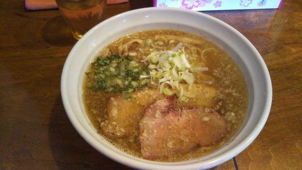 「(限定)背脂煮干しラーメン」@はりけんラーメンの写真