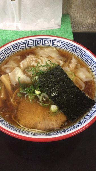 「醤油ワンタン」@麺処 ら塾の写真