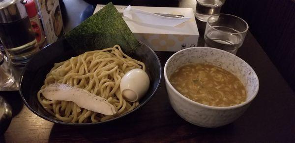 「鶏つけ麺(しょうゆ)」@鶏々 TORIDORIの写真